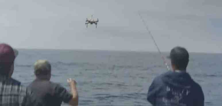 Fisherman do sometimes drone on but the Aguadrone aims to make life easier