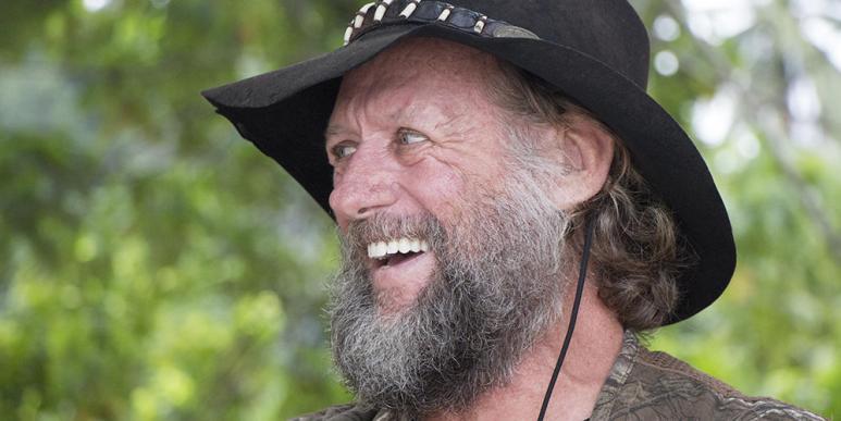 Croc Jim smiling