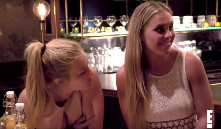 Lauren, right, and Veronica on this week's episode of Catching Kelce