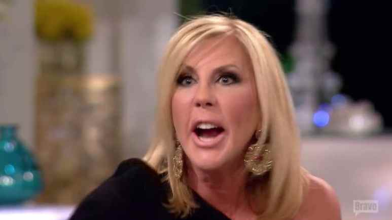 Vicki Gunvalson flips after being told to apologize to Shannon Beador on the RHOC reunion