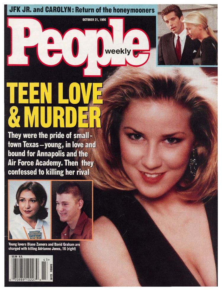 The original People Magazine cover featuting the story and a photo of Jones