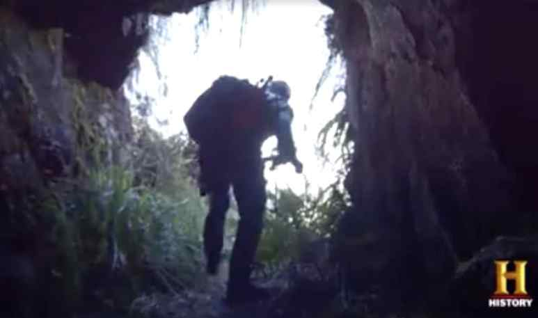 Hunting Hitler's Tim Kennedy explores the potential Nazi tunnels in Argentina