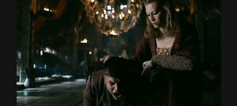Margrethe and Ivar on Vikings