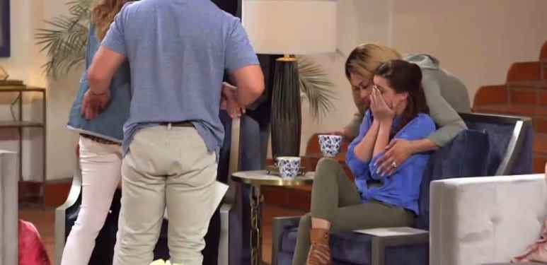 Jade cries on Marriage Boot Camp