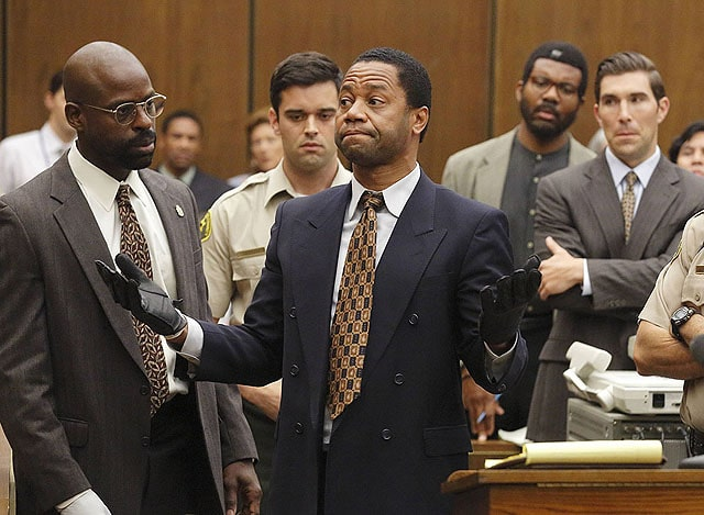 Cuba Gooding Jr. in The People v. O.J. Simpson
