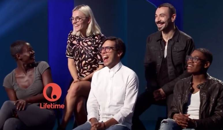 The final five Project Runway contestants