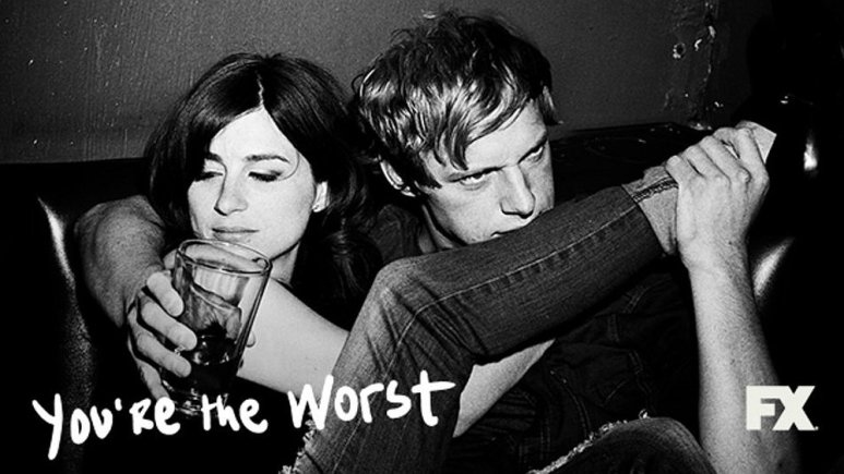 Jimmy Shive-Overly and Gretchen Cutler in You're the Worst
