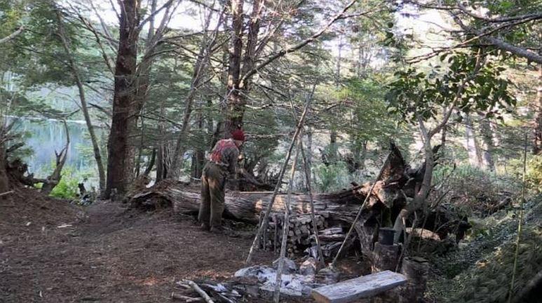Dan at camp