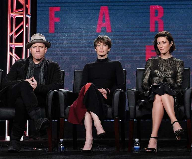 Ewan McGregor, Carrie Coon and Mary Elizabeth Winstead on the TCA Fargo panel