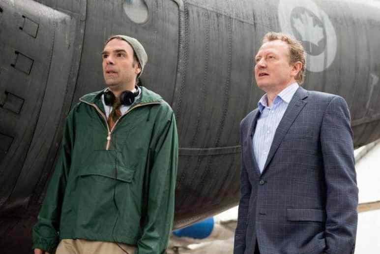 Matt Watts, left, and Bob Martin, right, in CBC's Michael: Every Day