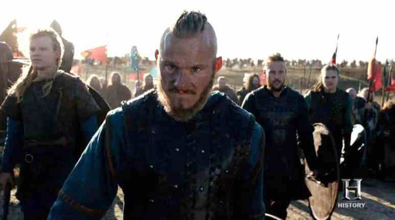 Bjorn and his brothers head to England on Vikings