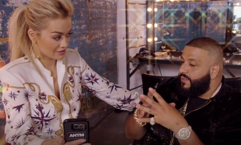 Rita Ora and DJ Khaled as they analyze the Snapchats on America's Next Top Model