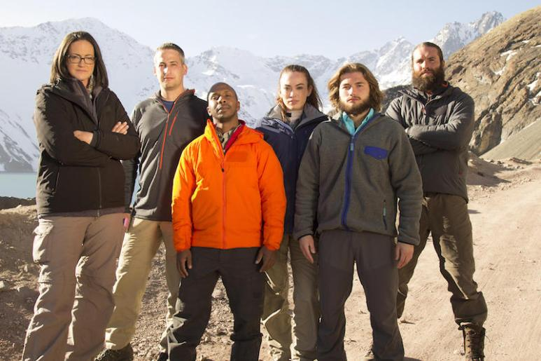 The contestants that make up the cast of The Wheel, Discovery's new survivalist show