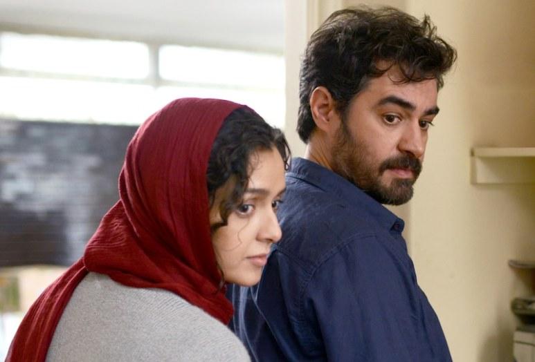 Taraneh Alidoosti as Rana and Shahab Hosseini as Emad Etesami in The Salesman
