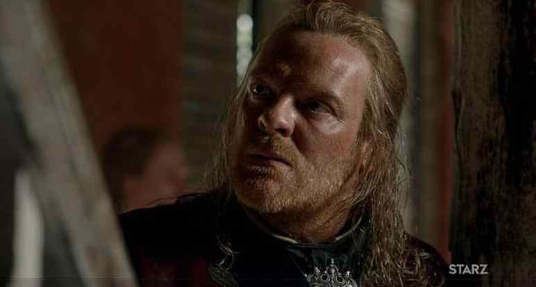 Chris Larkin in his role as Captain Berringer in Black Sails