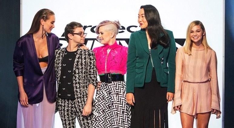 Hannah Jeter, Christian Siriano, Kelly Osbourne, Aya Kanai and Olivia