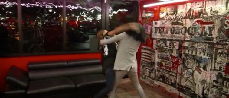 Tiffany and Sky fight on Black Ink Crew