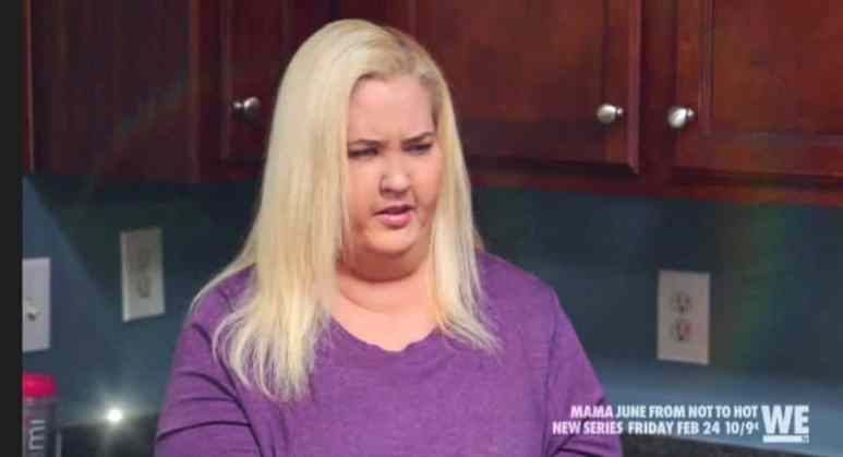 Mama June, who fans said looked like she was wearing a fat suit in Episode 1 of From Not to Hot