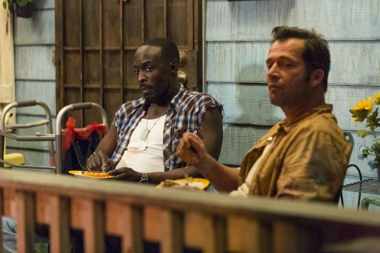 James Purefoy as Hap Collins, Michael K Williams as Leonard Pine