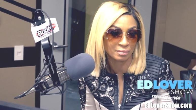 Karlie Redd speaks about her and Ceaser's 'celibate' relationship on The Ed Lover Show
