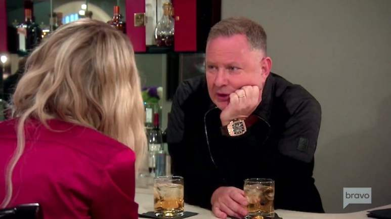 Paul Kemsley talking to wife Dorit on The Real Housewives of Beverly Hills