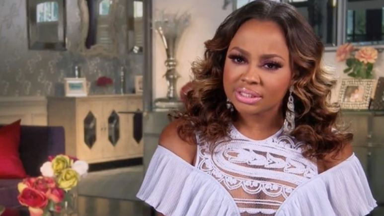 Phaedra thinks Kenyas behaviour towards her husband was just downright skanky