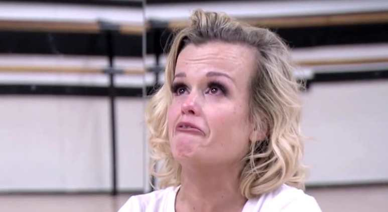 Terra Jole weeps on Little Women: LA as she struggles to deal with the pressure of being on DWTS