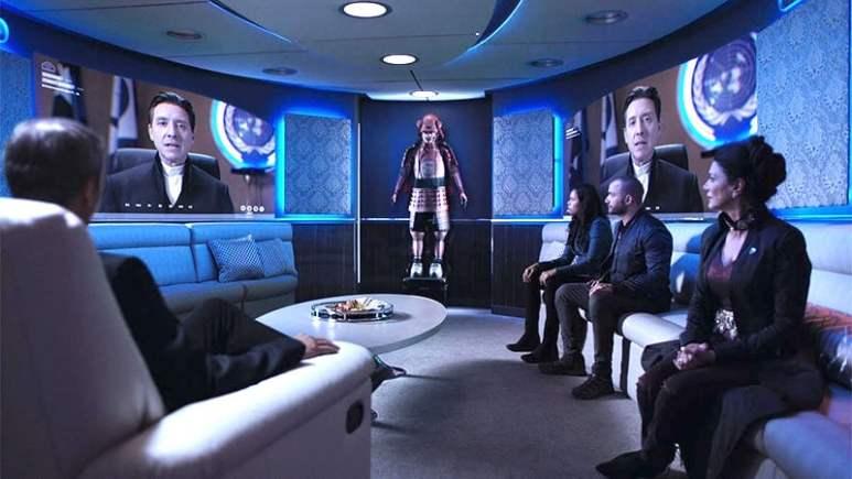 Errinwright goes full villain and undermines Avasarala in The Expanse