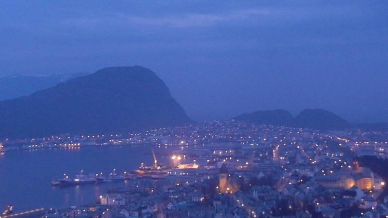 Alesund in Norway is a picturesque town