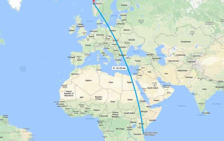 Tonight the teams will travel from East Africa to Northern Europe