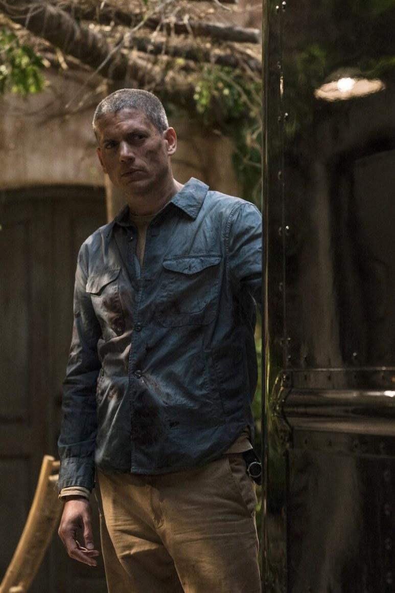 Wentworth Miller as Michael in Prison Break