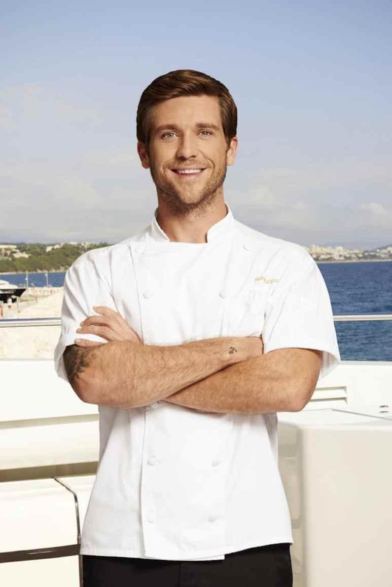 Adam on on Below Deck Mediterranean