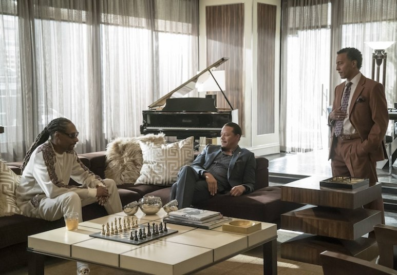 """Snoop, Lucious and Thurston """"Thirsty"""" Rawlings talk it out"""