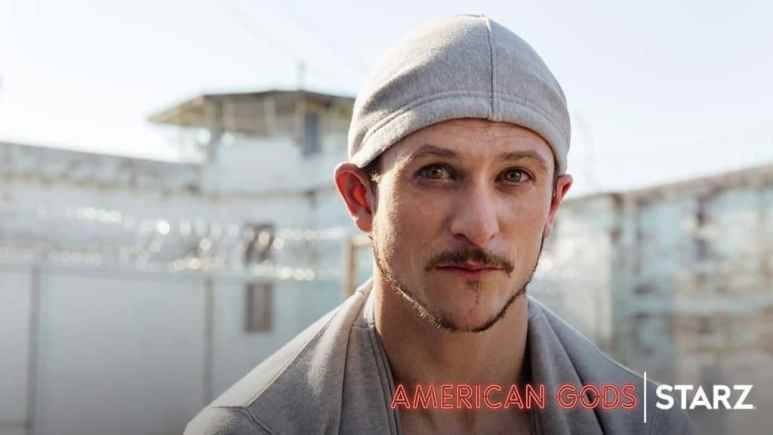 Tucker as Low-Key Lyesmith on American Gods