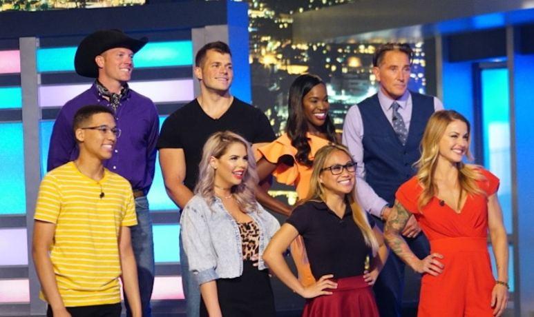 Eight of the Big Brother Season 19 housemates