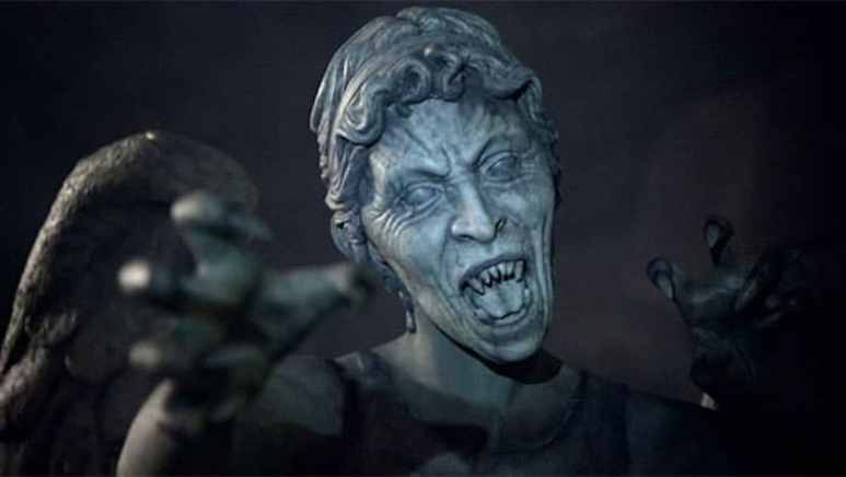 One of the Weeping Angels statues