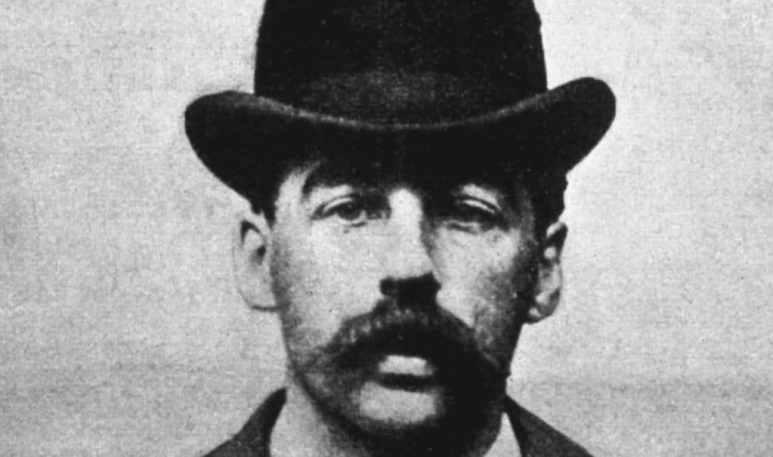 Mugshot of H.H. Holmes