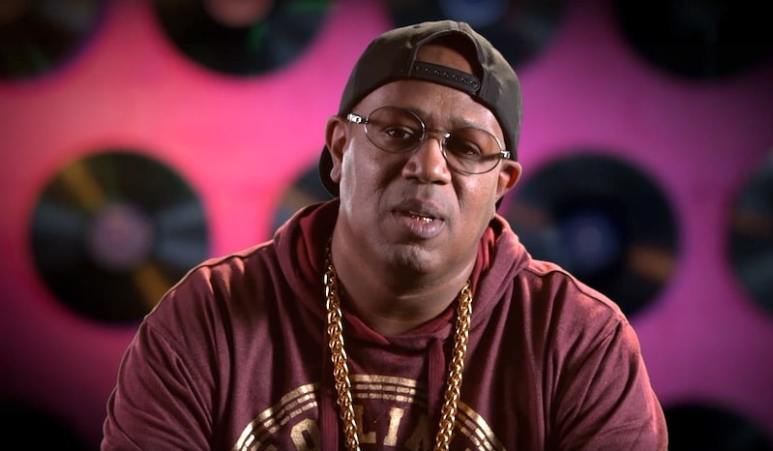 Master P talks to the camera on Growing Up Hip Hop