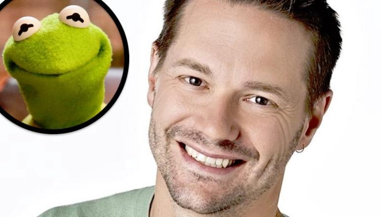 Matt Vogel and Kermit the Frog