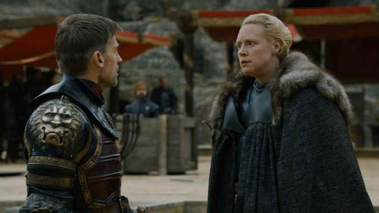 Jaime Lannister and Brienne of Tarth