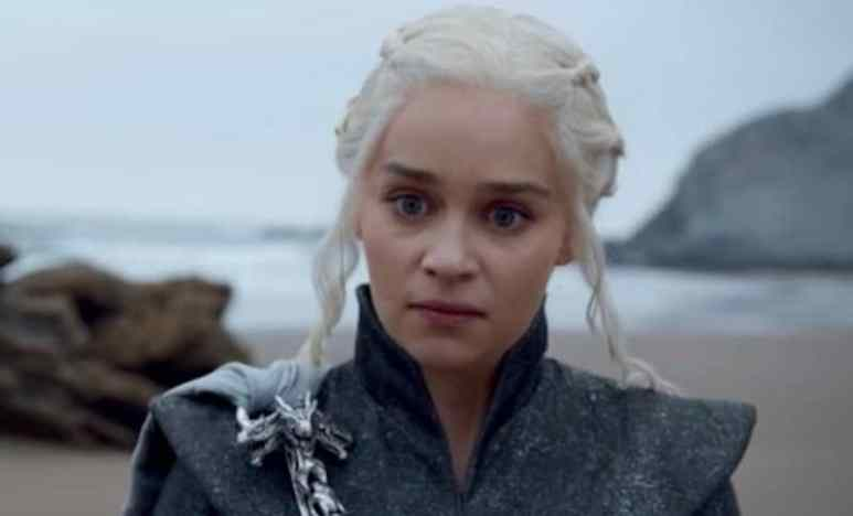Daenarys Targaryen on Game of Thrones