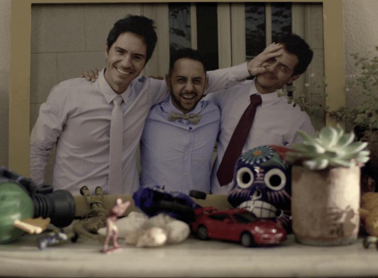 Mauricio Ochmann, Humberto Busto and Alfonso Dosal