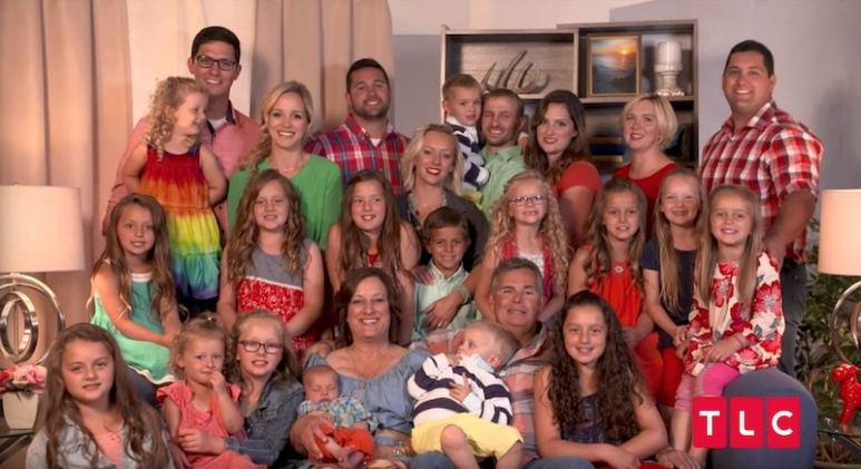 The family posing for a photo in Meet the Putmans