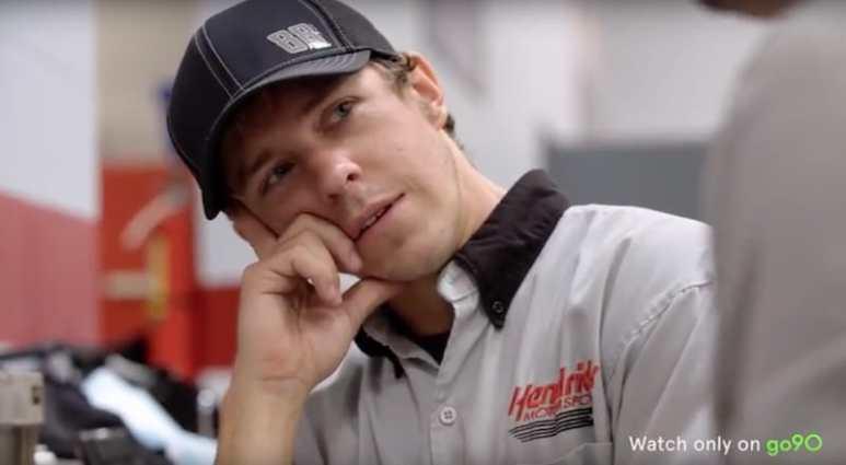 Interior mechanic Adam Jordan on Road To Race Day