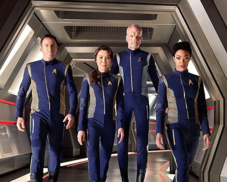 The Star Trek: Discovery cast