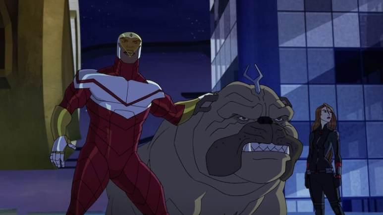 Lockjaw in Avengers Assemble: Ultron Revolution