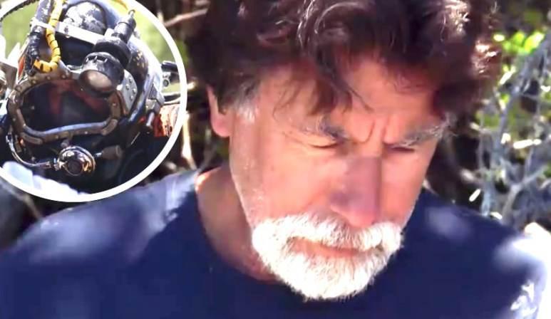 Rick Lagina and a diver in The Curse of Oak Island Season 5 trailer