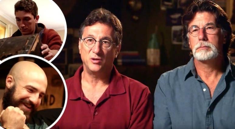 Marty and Rick Lagina, Alex Lagina and Jack Begley in The Curse of Oak Island Season 5