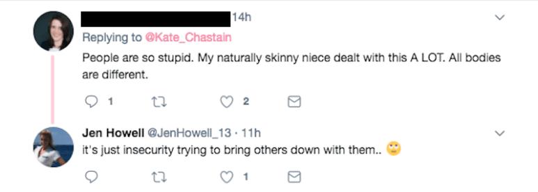 Jen Howell Tweet