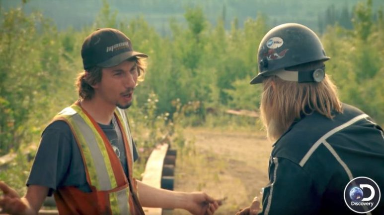 Parker Schnabel and Tony Beets on the Gold Rush premiere